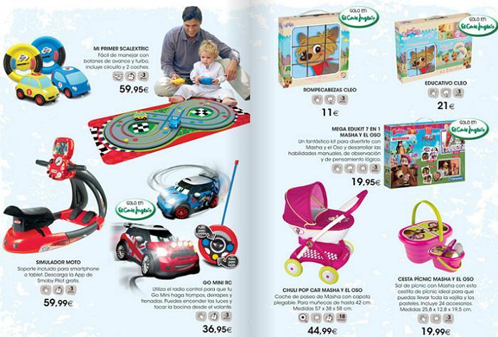 catalogo de juguetes el corte ingles 2015