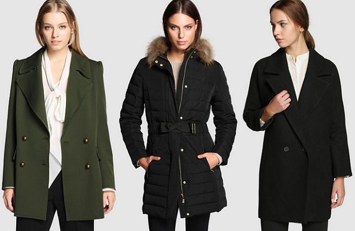 moda el corte ingles otoño invierno 2015 2016 abrigos