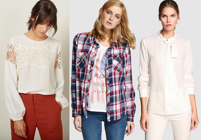 moda el corte ingles otoño invierno 2015 2016 camisas