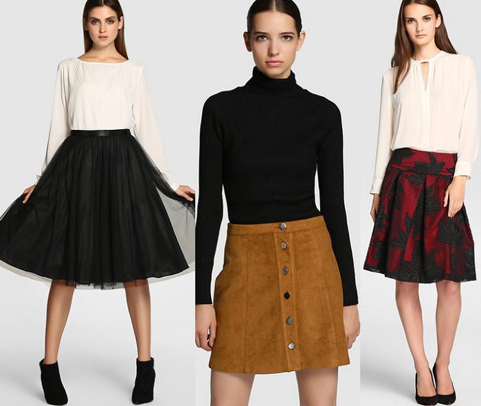 moda el corte ingles otoño invierno 2015 2016 faldas