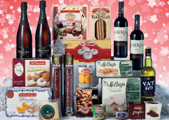 catalogo cestas de navidad el corte ingles 2015