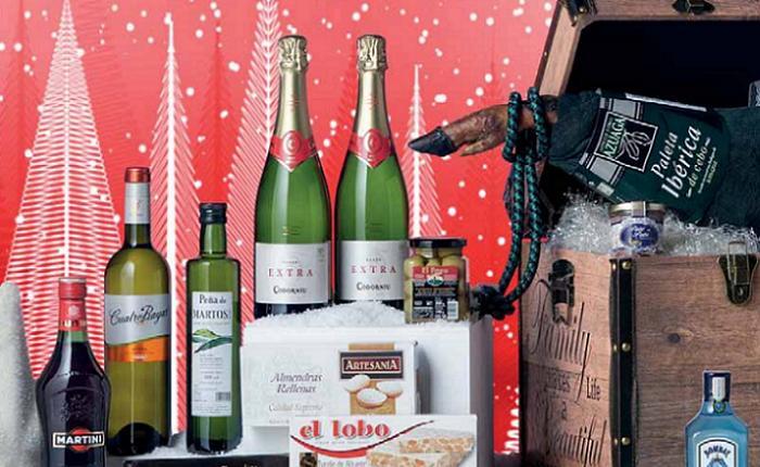 Cat logo de cestas de navidad el corte ingles 2015 un for El corte ingles navidad