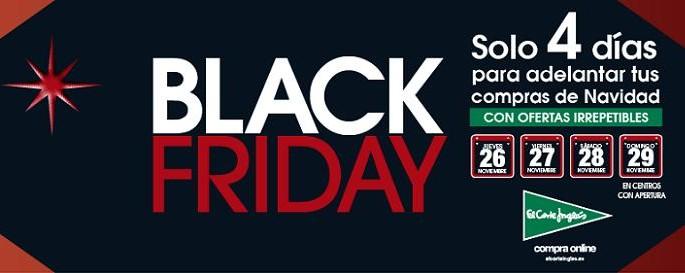 Ofertas Black Friday El Corte Ingles 2015: del 26 al 29 de noviembre