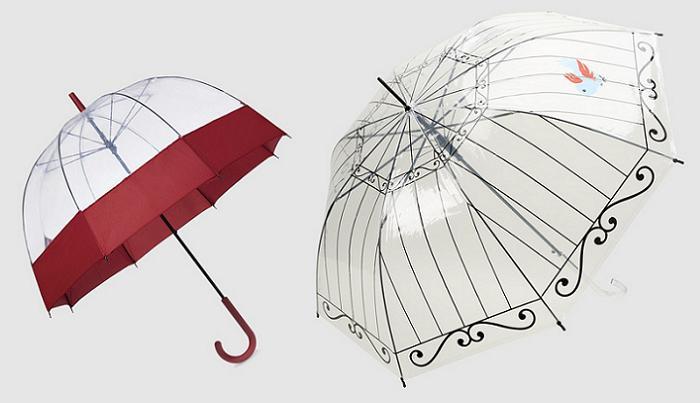 10 Plegables Transparentes Corte Paraguas El Ingles Originales STqSz0