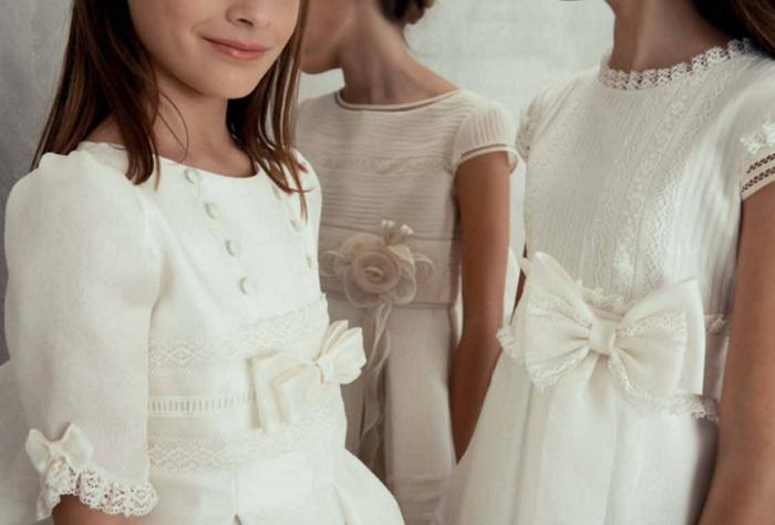 d4e61f942 10 vestidos de comunión El Corte Inglés 2016 de la colección Tizzas ...