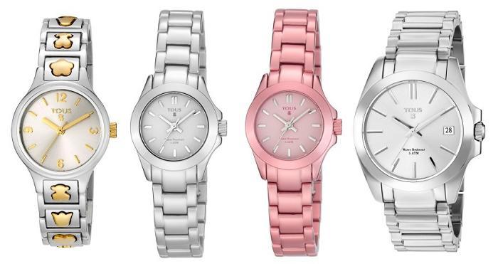 relojes tous niña de acero aluminio