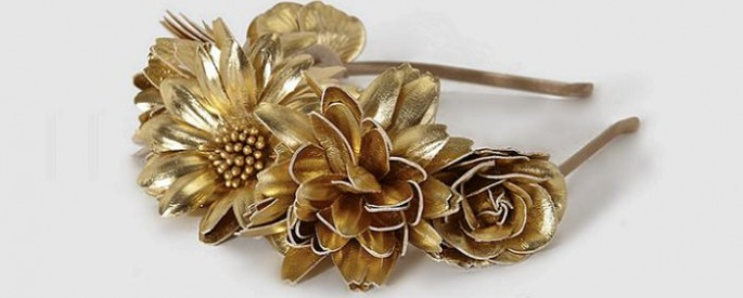 diademas de flores y tocados el corte ingles para bodas y comuniones