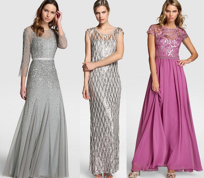 vestidos largos el corte ingles 2016 invitadas elegantes