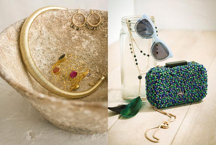 gloria ortiz primavera verano 2016 accesorios clutch gafas de sol