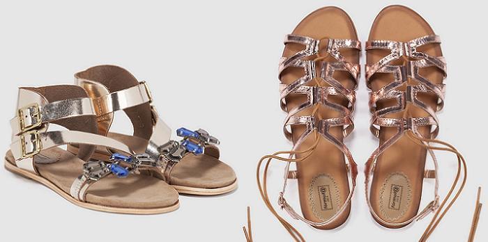 sandalias planas el corte ingles 2016