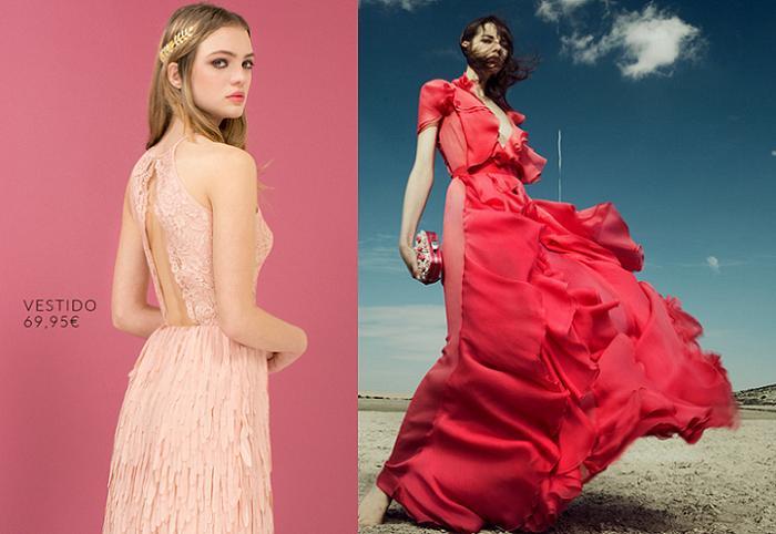 12 vestidos El Corte Inglés para ir a una boda de día y de tarde