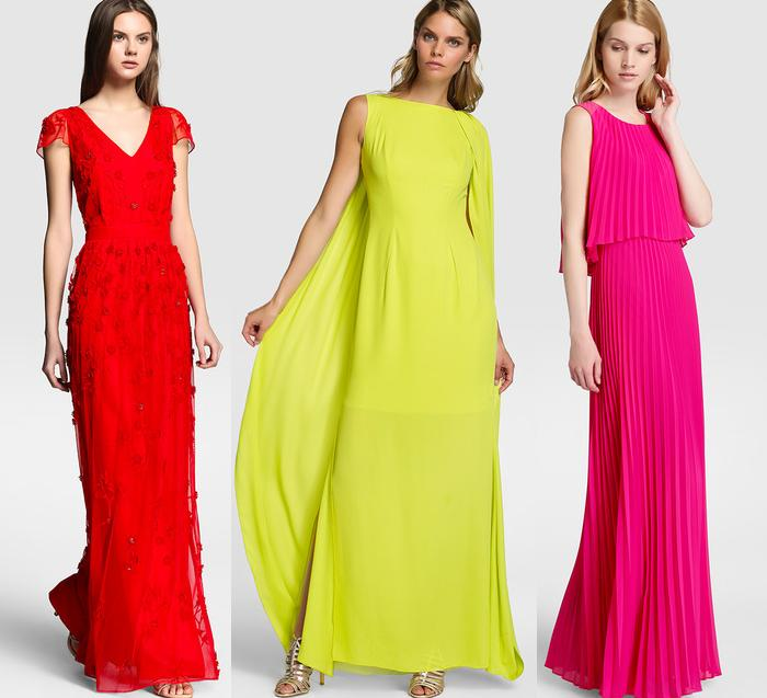 vestidos el corte ingles para ir a una boda de noche