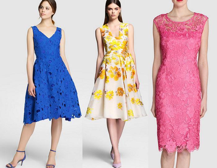 vestidos de fiesta el corte ingles para bodas 2016