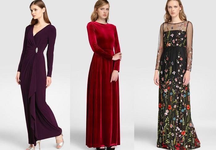 vestidos de fiesta el corte ingles 2017 invitadas bodas
