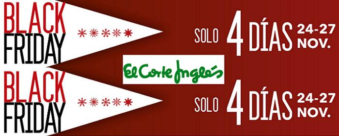 Black Friday El Corte Ingles 2016