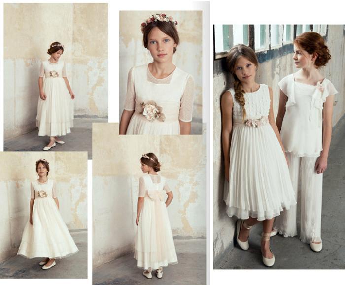 Descubre la coleccci n de vestidos de comuni n 2017 el - Blancolor corte ingles 2017 ...