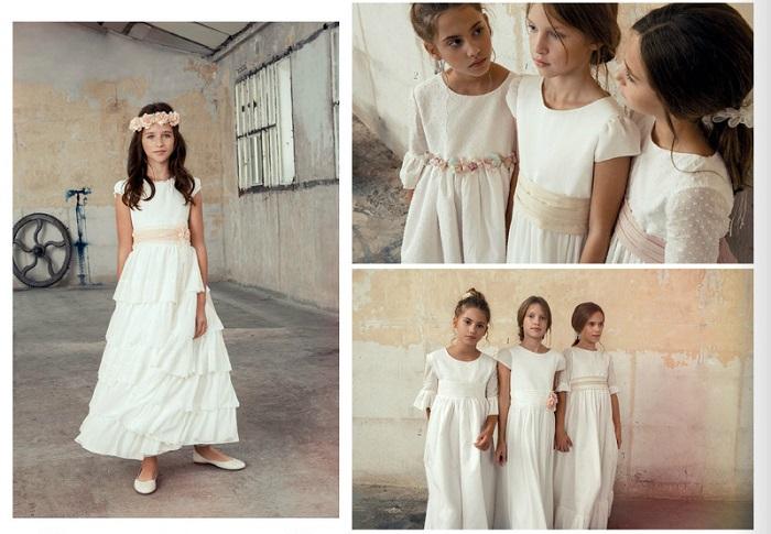 catálogo vestidos comunión